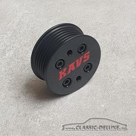 Kleines Lade-Rad (Pulley) Eaton M45 58mm Mini R53 Cooper S