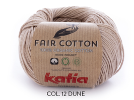 FAIR COTTON, KATIA, BIO BAUMWOLLE