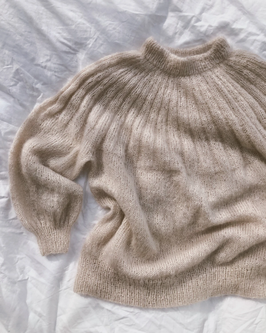 Strickset SUNDAY Sweater MOHAIR Edition / PetiteKnit  Gr. M / L