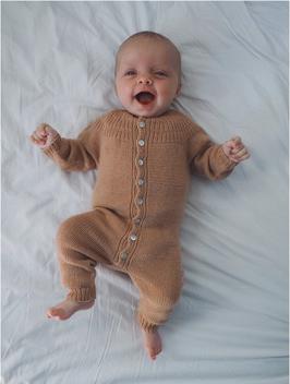 "Strickset ""Ankers Strampler"", PetiteKnit,  12-18 Monate"