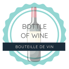 Bottle of Wine / Bouteille de Vin