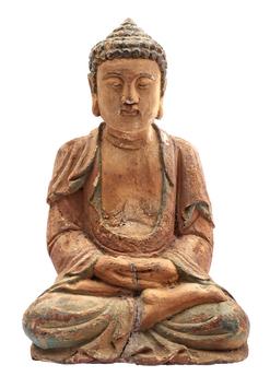 Antieke Boeddha beeld