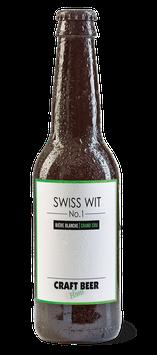 """SWISS WIT   """"Bière blanche Grand Cru"""""""
