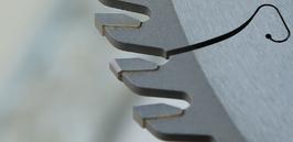TCT circular saw blades for panel sizing machines - 400 HOLZMA