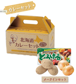 【最安値】北海道じゃがたまカレーセット メークイン 398円×24箱【送料無料】