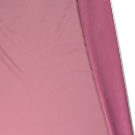 Abrigo soft shell color rosa con polar rosa interior