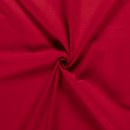 Algodón liso rojo