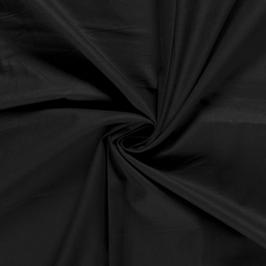 Algodón liso negro