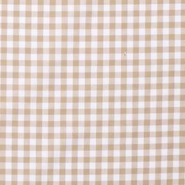 Cuadro vichy beige 1 cm