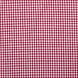Cuadro vichy rojo 0,5 cm