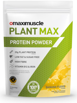 MAXIMUSCLE PLANT MAX PROTEIN POWDER 480 G