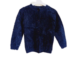 Gilet maille velue 6 ans