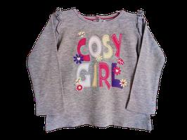 "T-shirt ML ""Cosy girl"" 6/12 mois"