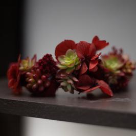 Serre tête fleuri Pièce unique