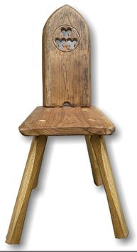 Stuhl mit Muster
