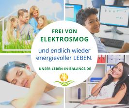 LIVE Online-Seminar - Elektrosmog selber reduzieren