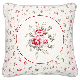 Cushion Elouise white with Application