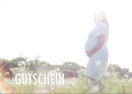 Gutschein für ein Babybauchshooting inkl. aller Bilder