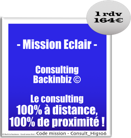 Mission Eclair - Consulting Skype/FaceTime Le consulting 100% à distance !
