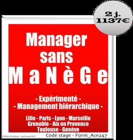 4 - Manager sans manège Expérimenté - 2 jours