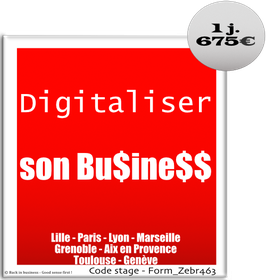 131 - Digitaliser son Business - 1 jour