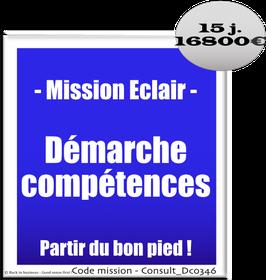 Mission Eclair - 8 - Démarche compétences : partir du bon pied !