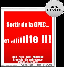14 - Sortir de la GPEC… et vite !!! - 2 jours