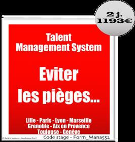 203 - Talent Management System. Eviter les pièges… - 2 jours