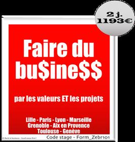 900 - Faire du business par les valeurs ET les projets - 2 jours