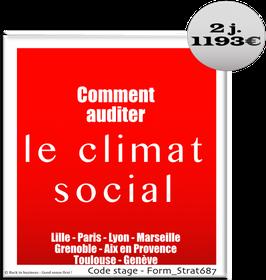 18 - Comment auditer le climat social - 2 jours