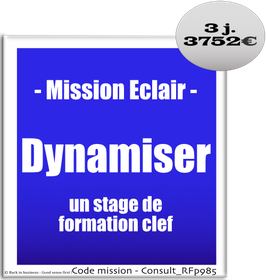 Mission Eclair - 913 - Dynamiser un stage de formation clef
