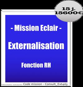 Mission Eclair - 2 - Externalisation Fonction RH