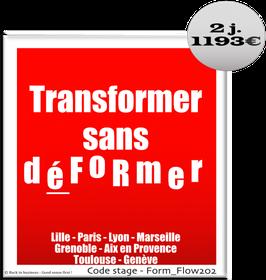 1 - Transformer sans déFoRmer - 2 jours
