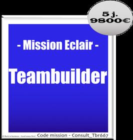Mission Eclair - 914 - Teambuilder - créer de la cohésion