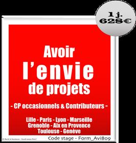 2 - Avoir l'envie de projets - Chef de projet occasionnel et contributeurs - 1 jour