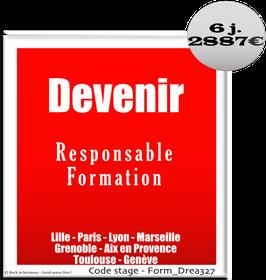 19 - Devenir Responsable Formation - 6 jours