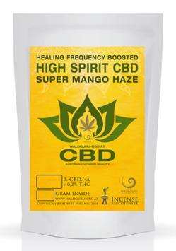 High Spirit Aroma Blüten - Super Mango Haze - mit Heilfrequenzen