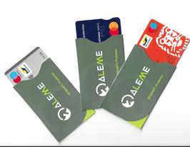 Protections cartes bancaires 3 pièces