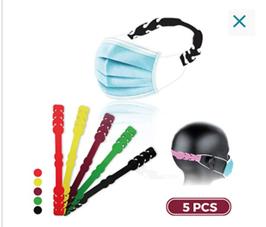 Accroche masque en silicone Lot de 10/pcs