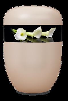 B1-0-1 Bio-Urne weiss, Calla