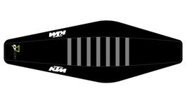 Factory Sitzbankbezug KTM Black Top - Black Sides - Grey Ribs
