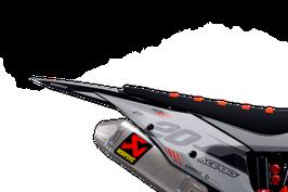 Numberplates Diller Powerparts Factory KTM Grey Limited Edition mit eurer eigenen Startnummer