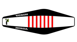 Factory Sitzbankbezug Honda White Top - Black Sides - Red Ribs