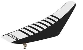 Sitzbankbezug Kawasaki White Top - Black Sides - Black Ribs