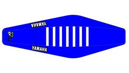 Factory Sitzbankbezug Yamaha Blue Top - Blue Sides - White Ribs