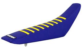 Sitzbankbezug Suzuki Blue Top - Blue Sides - Yellow Ribs