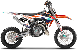 Dekor mit Numberplates KTM SX50 - SX65 Race Limited Edition