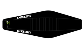 Factory Sitzbankbezug Suzuki Black Top - Black Sides - Black Ribs