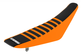 Sitzbankbezug KTM Black Top - Orange Sides - Orange Ribs