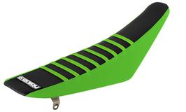 Sitzbankbezug Kawasaki Black Top - Green Sides - Green Ribs